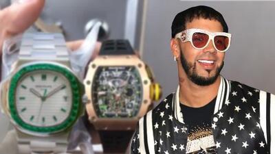 Estos son los dos relojes que según Anuel AA valen 1.3 millones de dólares