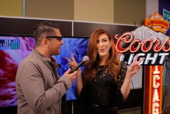 Ana Victoria en el Coors Light Uforia Room