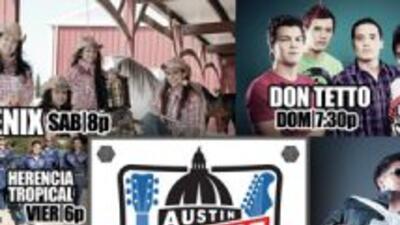 Fórmula 1: Los conciertos de Univision en el Austin Fan Fest