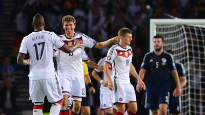 Escocia 2-3 Alemania: Alemania derrotó a Escocia y se acerca a la Eurocopa