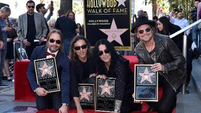 Maná recibió su estrella en Hollywood