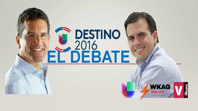 EN VIVO: Último debate de candidatos a la gobernación por el PNP