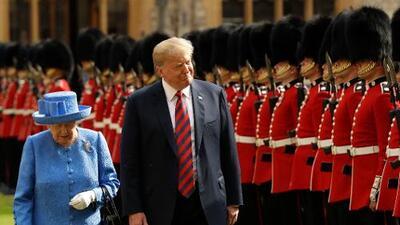 """Trump apoya públicamente a Boris Johnson y llama """"desagradable"""" a Meghan Markle"""