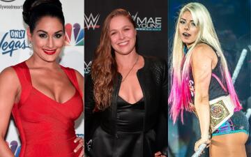 Ronda Rousey peleará en la WWE y ellas serán algunas de sus sensuales rivales