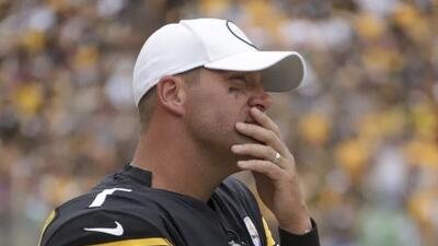Ben Roethlisberger dice adiós a la temporada de NFL