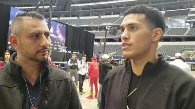 """""""Yo lo voy a noquear"""": David Benavidez regresa con todo 13 meses fuera del ring"""