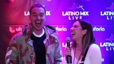 J Balvin Confiesa Talento Oculto en Latino Mix Live