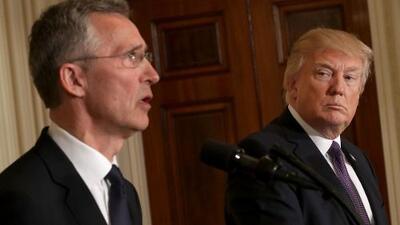 """Trump asegura que la OTAN """"ya no es obsoleta"""""""