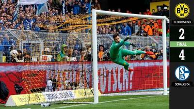 Bye-Bye Bundesliga: Borussia Dortmund, vapuleado por su verdadero némesis Schalke 04