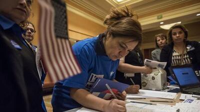 Así marcha la pelea por el decisivo voto latino en Nevada