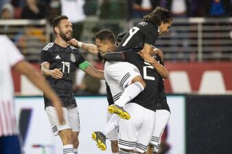 En fotos: México superó 4-2 a Paraguay en Santa Clara con una contundente actuación en el primer tiempo