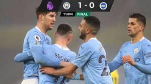 El City ganó y se acercó a la cima; Tottenham, con amargo empate