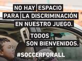 Comienza la semana de 'Soccer For All': esto es lo que debes saber