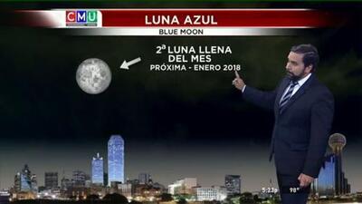 El tiempo: julio y la luna azul