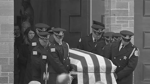 Despiden con honores al oficial Marmolejo que murió en el cumplimiento del deber