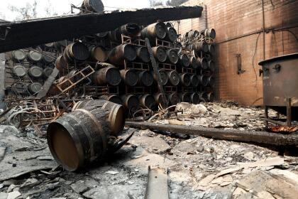 Más de 68,000 personas en la región de viñedos han sido desplazadas por el incendio Glass. Las autoridades les han advertido a otros 14,600 residentes que deben estar listos para abandonar sus hogares en cuanto se les dé la orden.