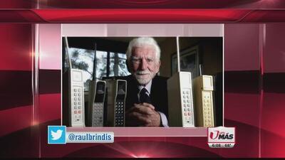 Se cumplieron 43 años de la primera llamada en teléfono celular