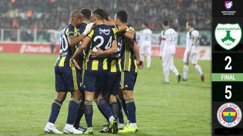 Con este gol, Diego Reyes se estrenó con el Fenerbahçe