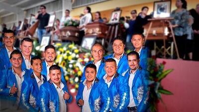 Así fue el último adiós para los miembros de la banda 'La Trilladora' fallecidos en el accidente