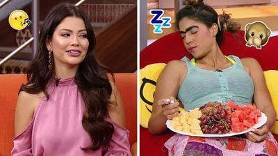 DAEnUnMinuto: Ana Patricia recibió piropos hoy, ¡y Mela la Melaza se quedó dormida en pleno show!