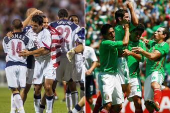 Los 25 grandes momentos de la rivalidad entre Estados Unidos y México