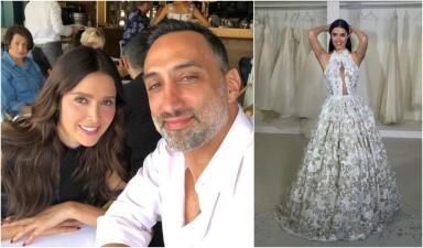 Tres vestidos exclusivos y un lugar de ensueño: así será la boda de Marlene Favela