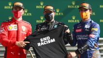 Captan a Leclerc y Bottas fuera de la burbuja de Fórmula 1