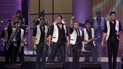 Los Recoditos se pusieron a bailar reggaeton en Las Vegas