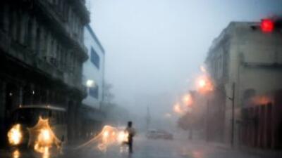 Fuertes lluvias y tormentas eléctricas en Cuba