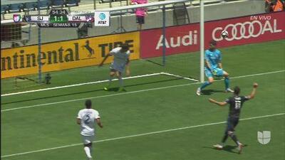 ¡Casi no llega el VAR! SJ Earthquakes celebró de manera tardía el 2-1 contra FC Dalllas