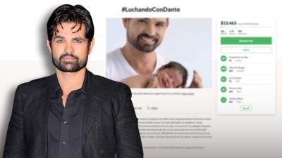 Piden ayuda para Ferdinando Valencia: necesita 300 mil dólares para salvar a su bebé Dante