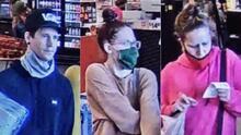 Policía de Sandy busca a tres sospechosos en caso de robo de tarjeta de crédito