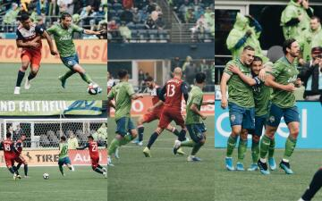 En fotos: Agónico triunfo del Seattle Sounders sobre el FC Dallas