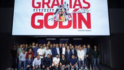 El final de una época: entre lágrimas, Diego Godín anunció su adiós del Atlético de Madrid