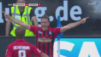 Zurdazo de Günter abre el marcador para el Friburgo 1-0 Hoffenheim