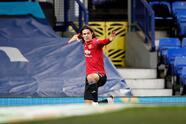 El astro uruguayo, Edinson Cavani (88'), abrió el marcador y Anthony Martial (90+6') hizo el 0-2 definitivo.