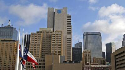 Altas temperaturas y cielos parcialmente nublados durante este viernes en Dallas