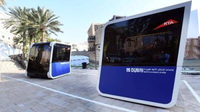 Dubai lanza una prueba de un sistema de transporte público sin conductores