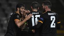 Raúl Jiménez y su recuperación tienen feliz al Wolverhampton