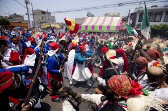 """Revive la """"Batalla de Puebla"""" este 5 de Mayo en Peñón de los Baños, Ciudad de México"""