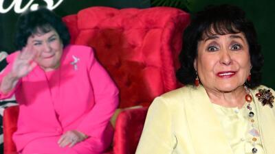 """Carmen Salinas le dio más de """"un manazo"""" a sus hijos (a uno la cabeza le hizo """"como la de 'El exorcista'"""" una vez)"""