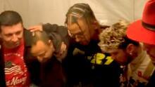 Piso 21 y Danny Ocean se preparan rezando antes de una presentación muy especial