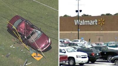 Robo violento en Walmart de Georgia termina con dos detenidos tras persecución