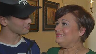 Jomari levanta el ánimo a una madre que tuvo que luchar contra su cáncer y el de su hijo