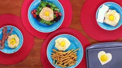 El Chef Jesús nos preparó el desayuno más trendy de las redes sociales: huevos nube