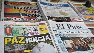 Los colombianos no debemos desistir, a pesar de la frustración, el incumplimiento, la pobreza y la indiferencia
