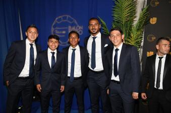 En fotos: los protagonistas de la alfombra azul se llevaron las miradas del Balón de Oro de la Liga MX