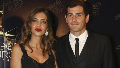"""Sara Carbonero reaparece tras el infarto de Iker Casillas y cuenta lo """"buen paciente"""" que es su marido"""
