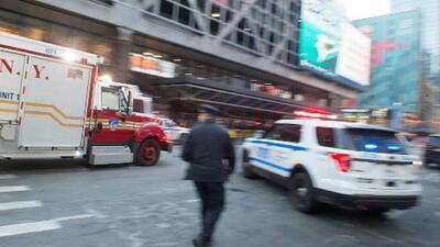 Se conocen imágenes del momento de la explosión en el tren de Nueva York