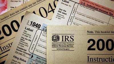 Las razones por las que disminuyeron los reembolsos de impuestos para contribuyentes en EEUU